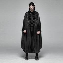 Men's Victorian Goth Cloak-Punk Design