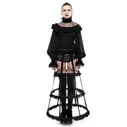 Women's Lolita Adjustable Lace Bustle-Punk Design