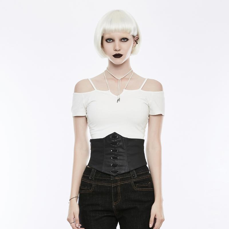 Women's Lace-up Corset-Punk Design