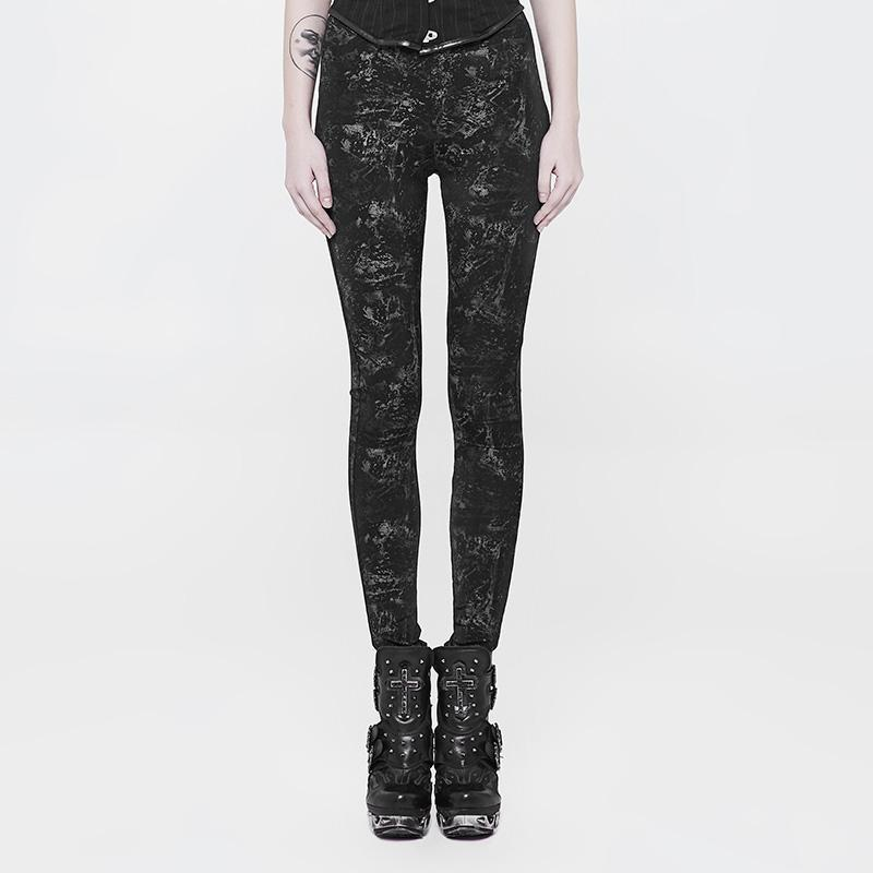 Women's Grunge Punk Leggings-Punk Design
