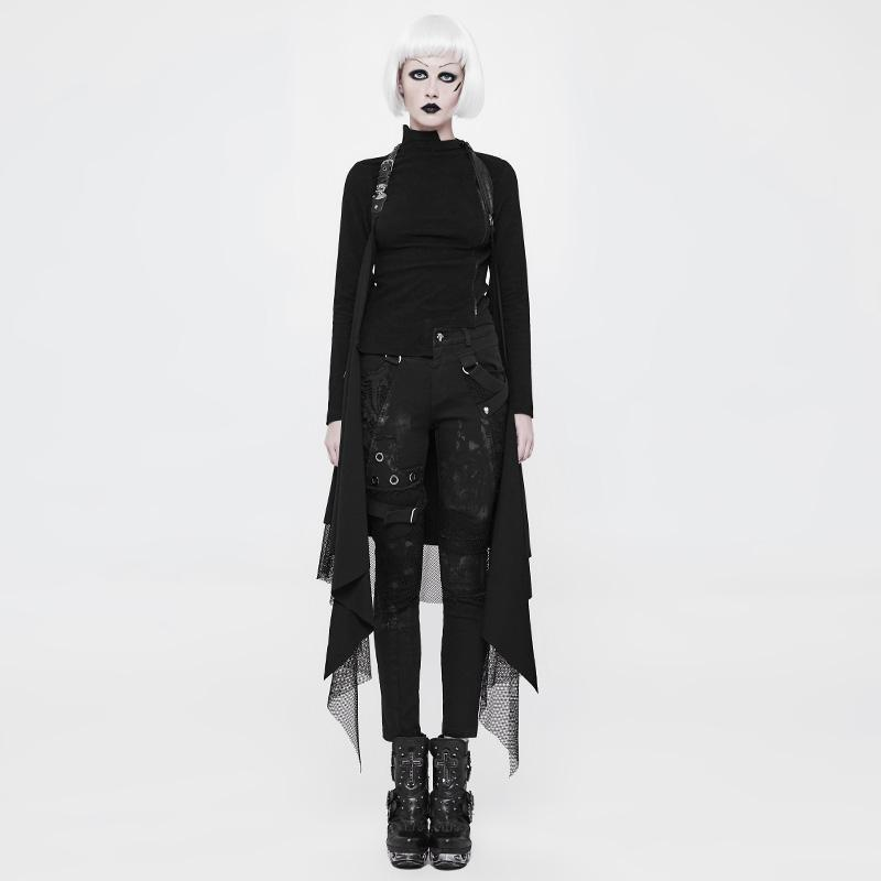 Women's Long Layered Punk Shrug-Punk Design