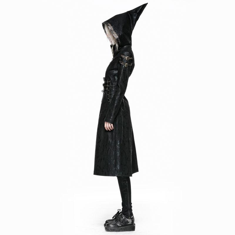 Frauen Punk Hooded Overcoat-Punk Design