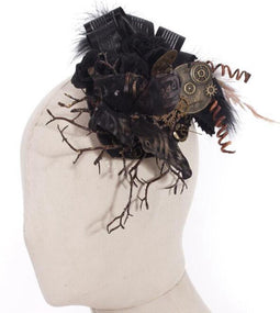 Steampunk Butterfly and Sticks Headdress-Punk Design