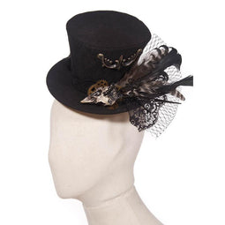 Steampunk Uhrwerk Top Hat-Punk Design
