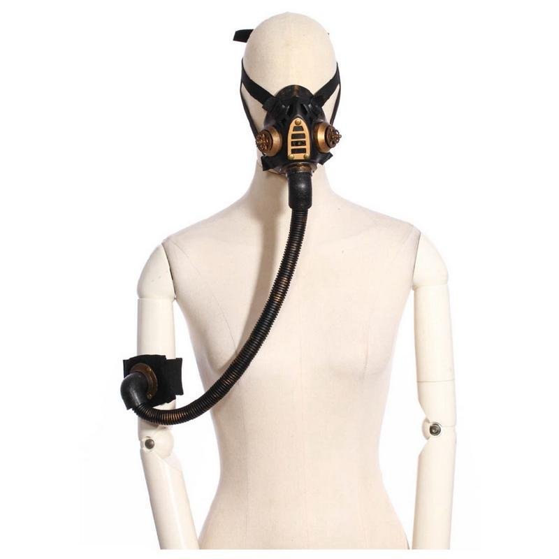 Diseño Steampunk Diving Mask-Punk