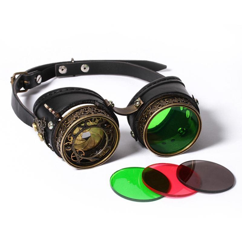 Steampunk Stylized Welding Goggles-Punk Design