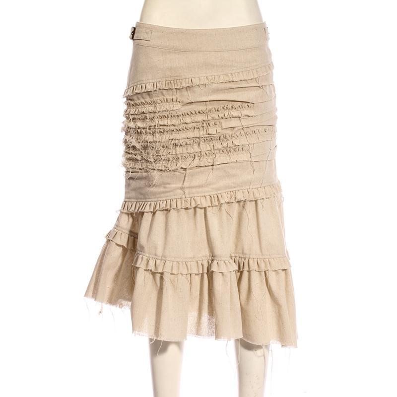 RQ-BL Women's Steampunk Tulip Skirt