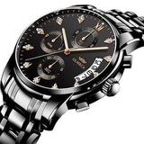 Wesley Chronograph Watch - Technigadgets
