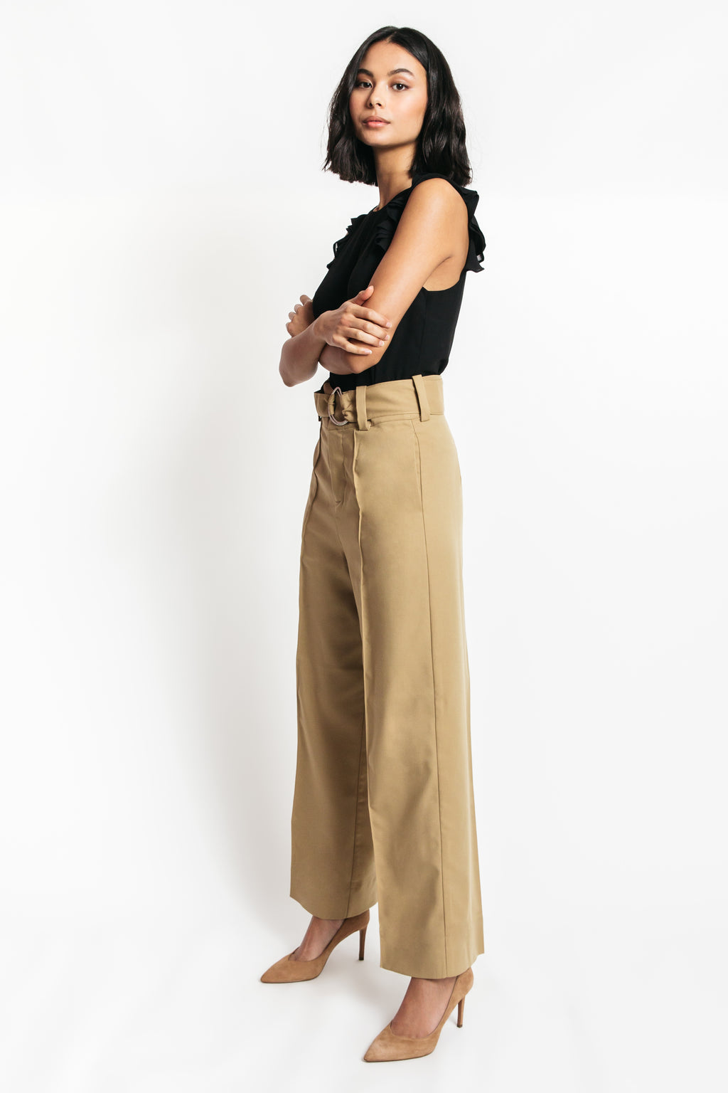 Sylvia High Waist Wide Leg Pants