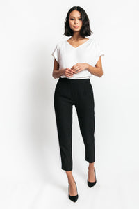 Lisa Pull On Pants with Side Stripe