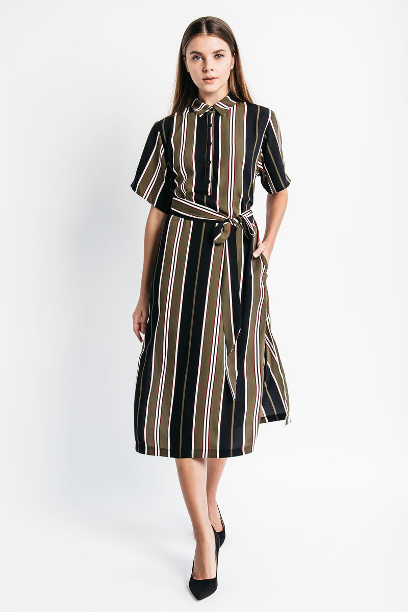 Power Stripes Dress
