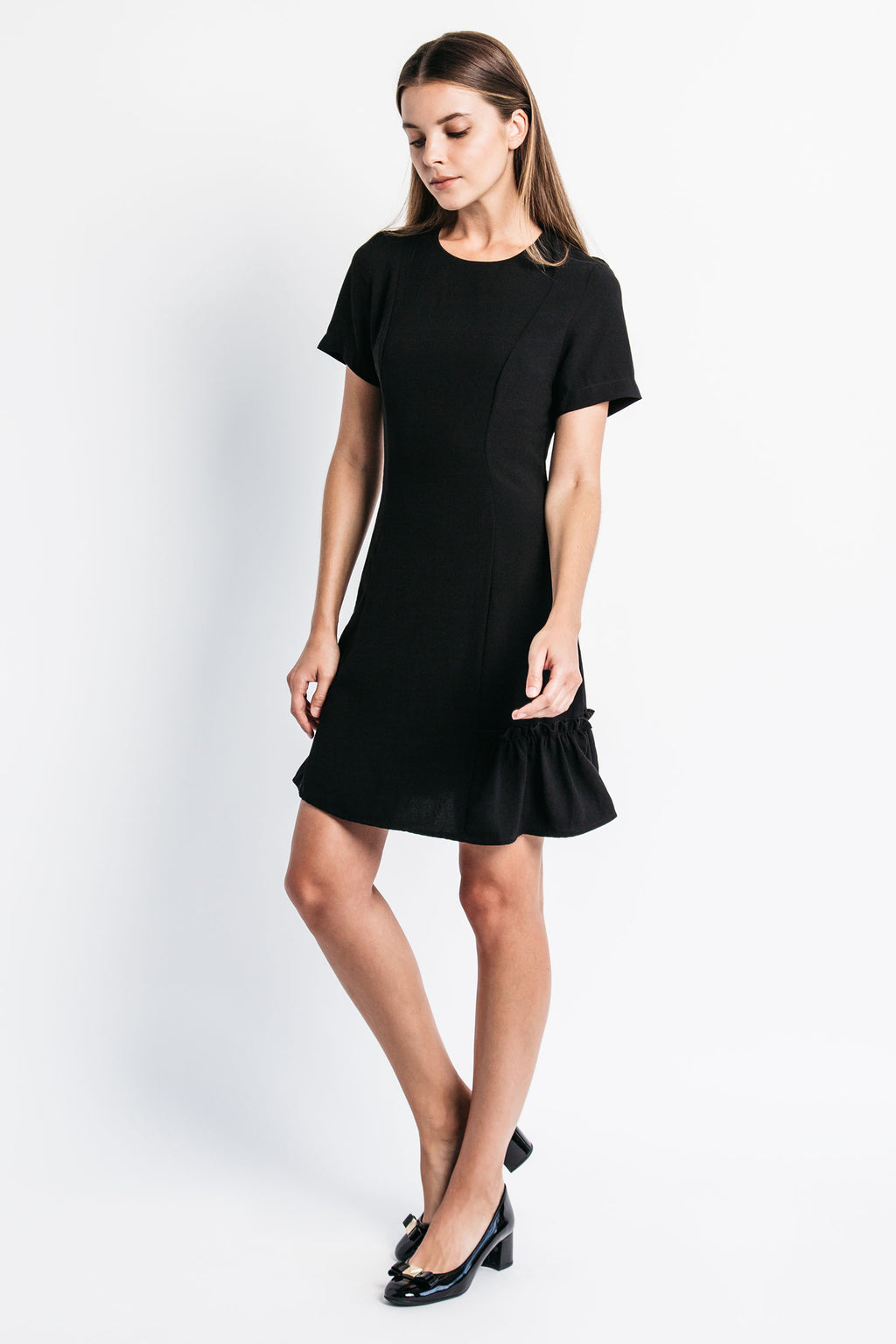Bottom Ruffle Dress