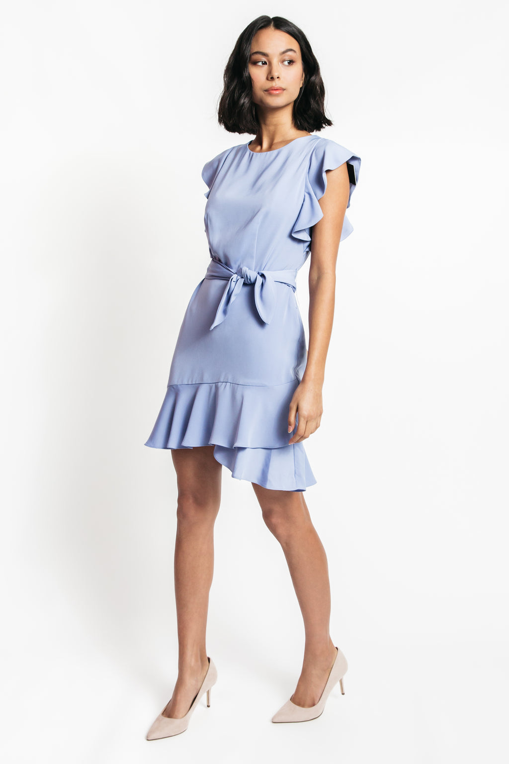 Charlotte Ruffle Hem Dress