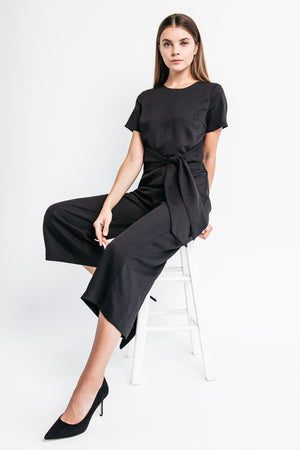 womens black jumpsuit