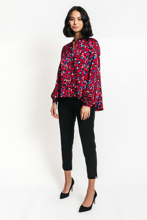 Lainey Leopard Print Top
