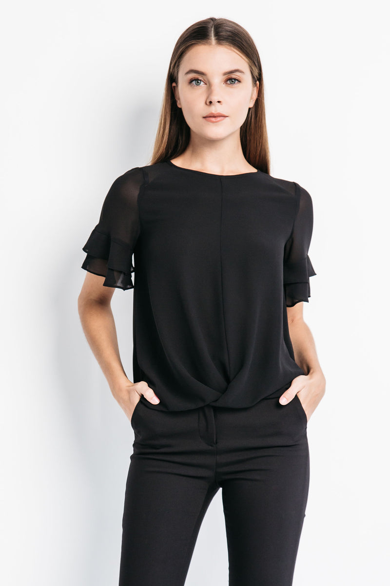 Layered Sleeve Top