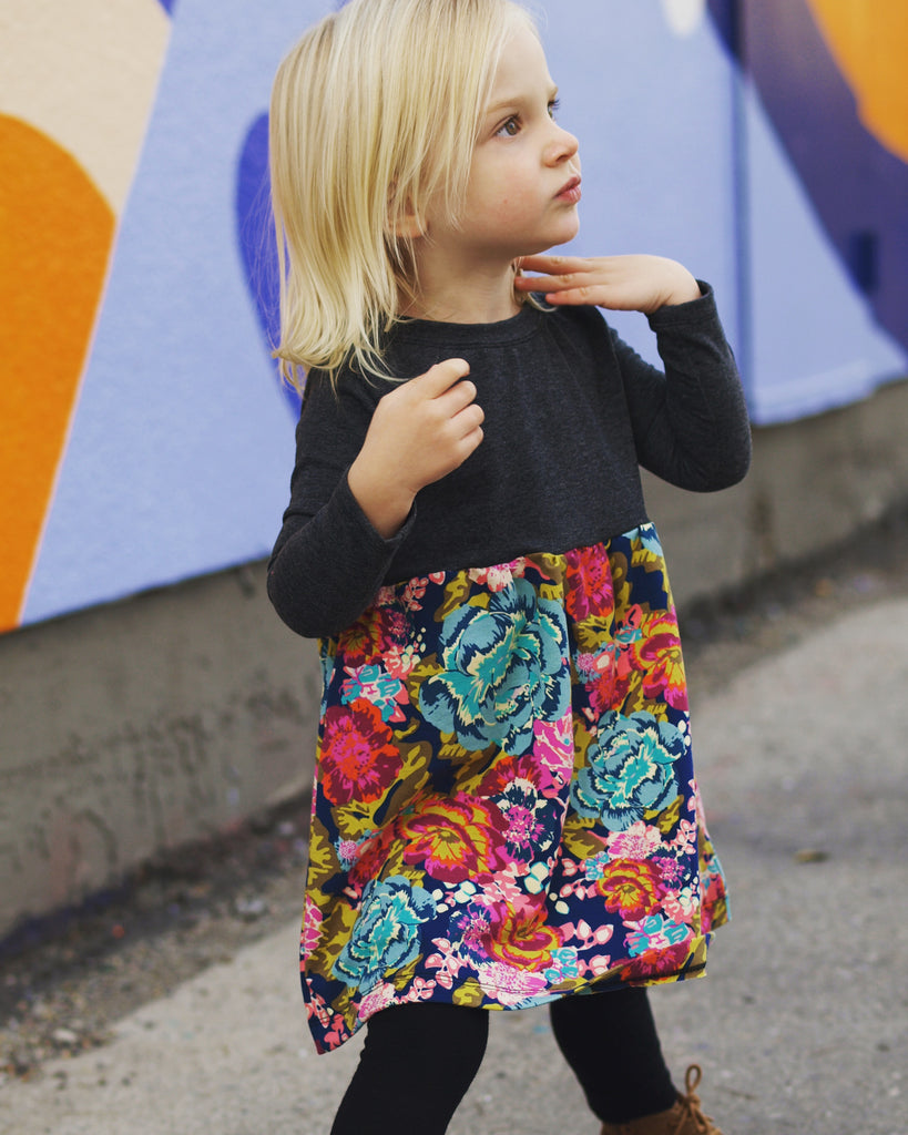 Floral Play Dress