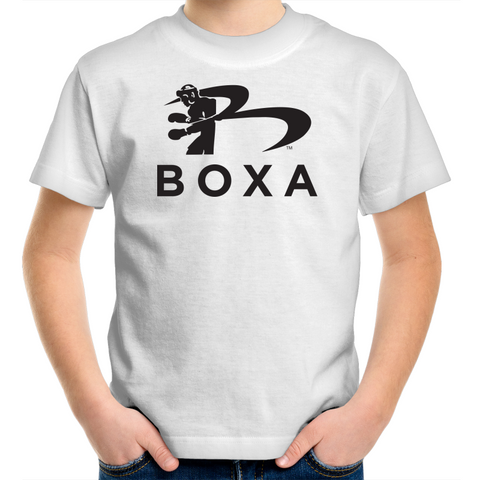 BOXA Kids / Youth Crew T-Shirt - Black