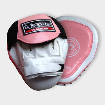BOXA FITNESS FOCUS PADS - PINK / WHITE