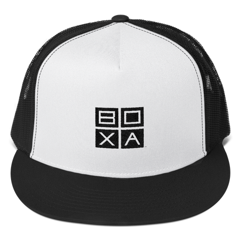 BOXA Square Circle Trucker Cap