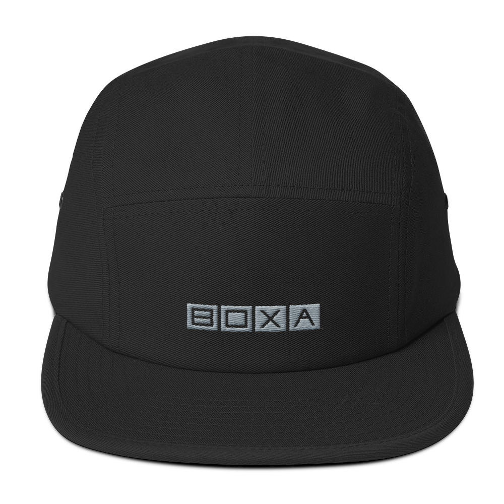 BOXA Square Circle 5 Panel Camper Hat
