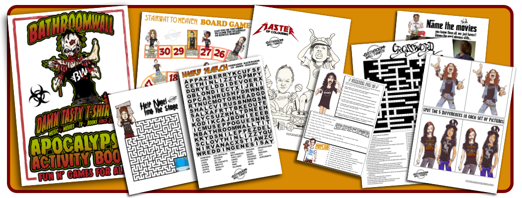 APOCALYPSE ACTIVITY BOOK - free pdf download