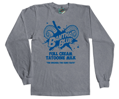 STAR WARS inspired BANTHA BLUE MILK T-Shirt