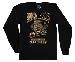 BRUCE SPRINGSTEEN inspired BORN TO RUN Broken Heroes T-Shirt