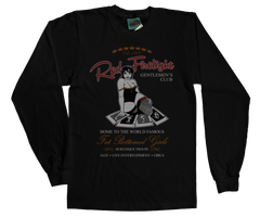 Queen Red Firelight Club Fat Bottomed Girls inspired T-Shirt