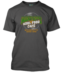 BLUES BROTHERS inspired Matt Guitar Murphys SOUL FOOD CAFE T-Shirt