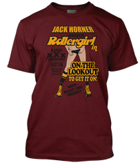 BOOGIE NIGHTS inspired Rollergirl T-Shirt
