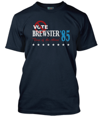 BREWSTERS MILLIONS inspired VOTE NONE OF THE ABOVE T-Shirt