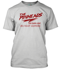 BACK TO THE FUTURE inspired PINHEADS movie T-Shirt