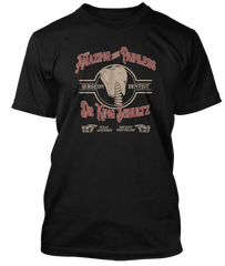DJANGO UNCHAINED inspired DR KING SCHULTZ DENTIST T-Shirt