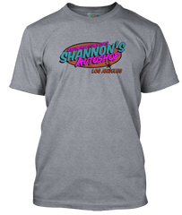 DRIVE movie inspired SHANNONS AUTOSHOP T-Shirt