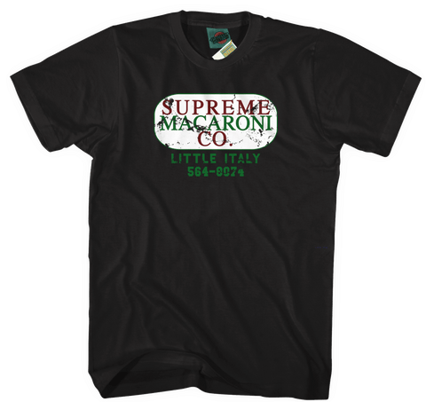 LEON THE PROFESSIONAL inspired SUPREME MACARONI COMPANY