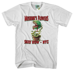 LITTLE SHOP OF HORRORS inspired MUSHNIK FLOWERS T-Shirt