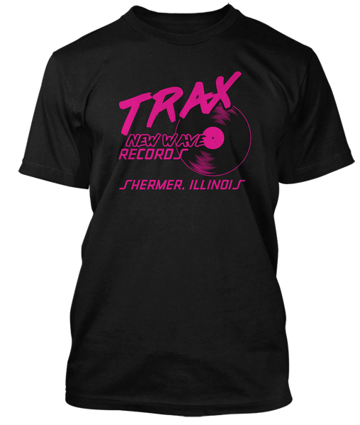 PRETTY IN PINK inspired TRAX RECORDS Shermer Illinois