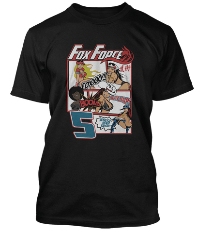 PULP FICTION Quentin Tarantino inspired FOX FORCE FIVE