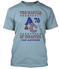 ROCKY Apollo Creed inspired MASTER OF DISASTER T-Shirt