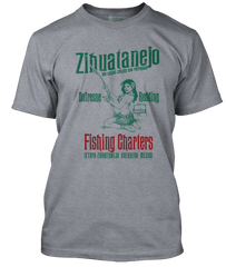 SHAWSHANK REDEMPTION inspired Zihuatanejo Fishing T-Shirt