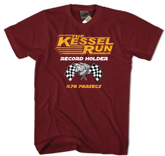 STAR WARS inspired KESSELL RUN MILLENNIUM FALCON T-Shirt