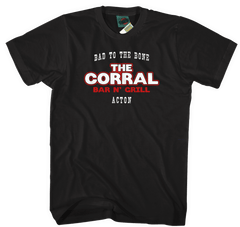 TERMINATOR 2 JUDGEMENT DAY inspired THE CORRAL BAR T-Shirt