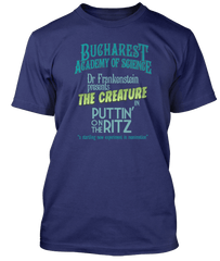 YOUNG FRANKENSTEIN inspired PUTTIN ON THE RITZ T-Shirt