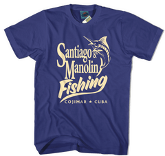 OLD MAN AND THE SEA inspired ERNEST HEMINGWAY T-Shirt