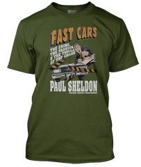 MISERY INSPIRED FAST CARS STEPHEN KING T-Shirt
