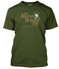 TREASURE ISLAND inspired ADMIRAL BENBOW INN T-Shirt