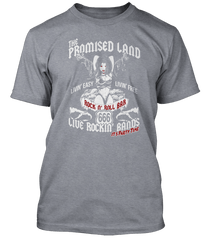 AC/DC inspired Highway To Hell Promised Land T-Shirt