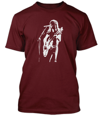 AC/DC inspired MALCOLM YOUNG T-Shirt