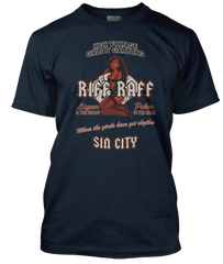 AC/DC inspired RIFF RAFF strip club Sin City T-Shirt